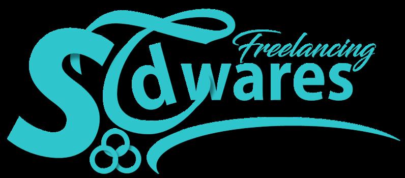 sTdwares Freelancing Venture - Logo - Cyan